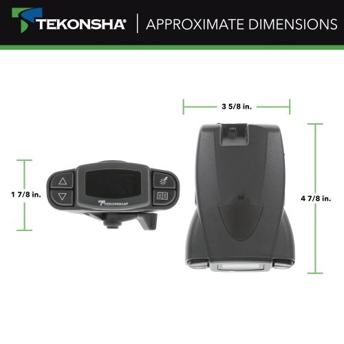 90195 P3 Trailer Brake Controller, Tekonsha P3 Prodigy Electric Trailer Brake Controller Wiring Diagram